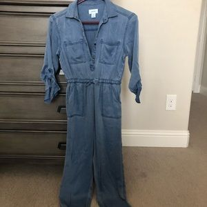 NWOT Old Navy soft denim jumpsuit romper